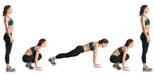 benefits of burpees step by step