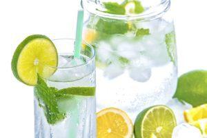 Lemon detox morning drink