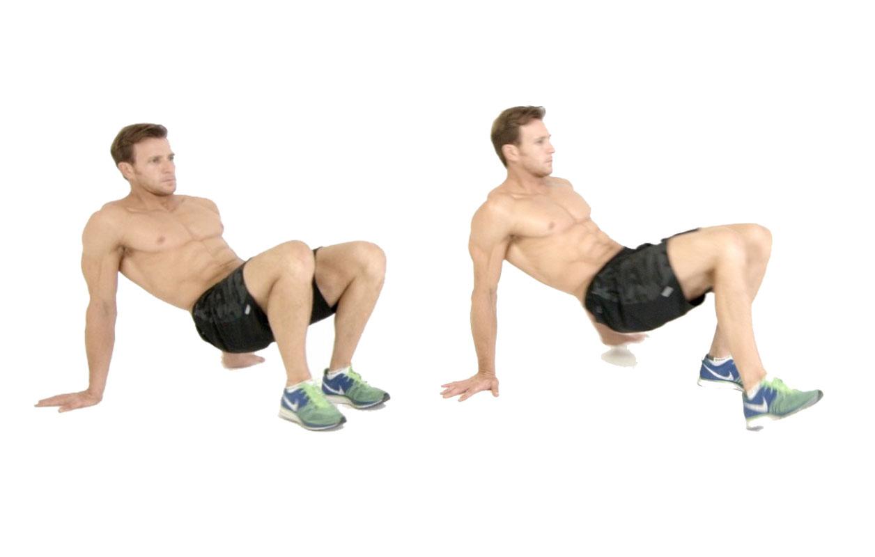 Crab Walk Shoulders workout at home