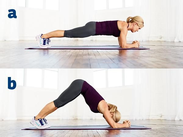 Dolphin Dive Shoulders workout at home