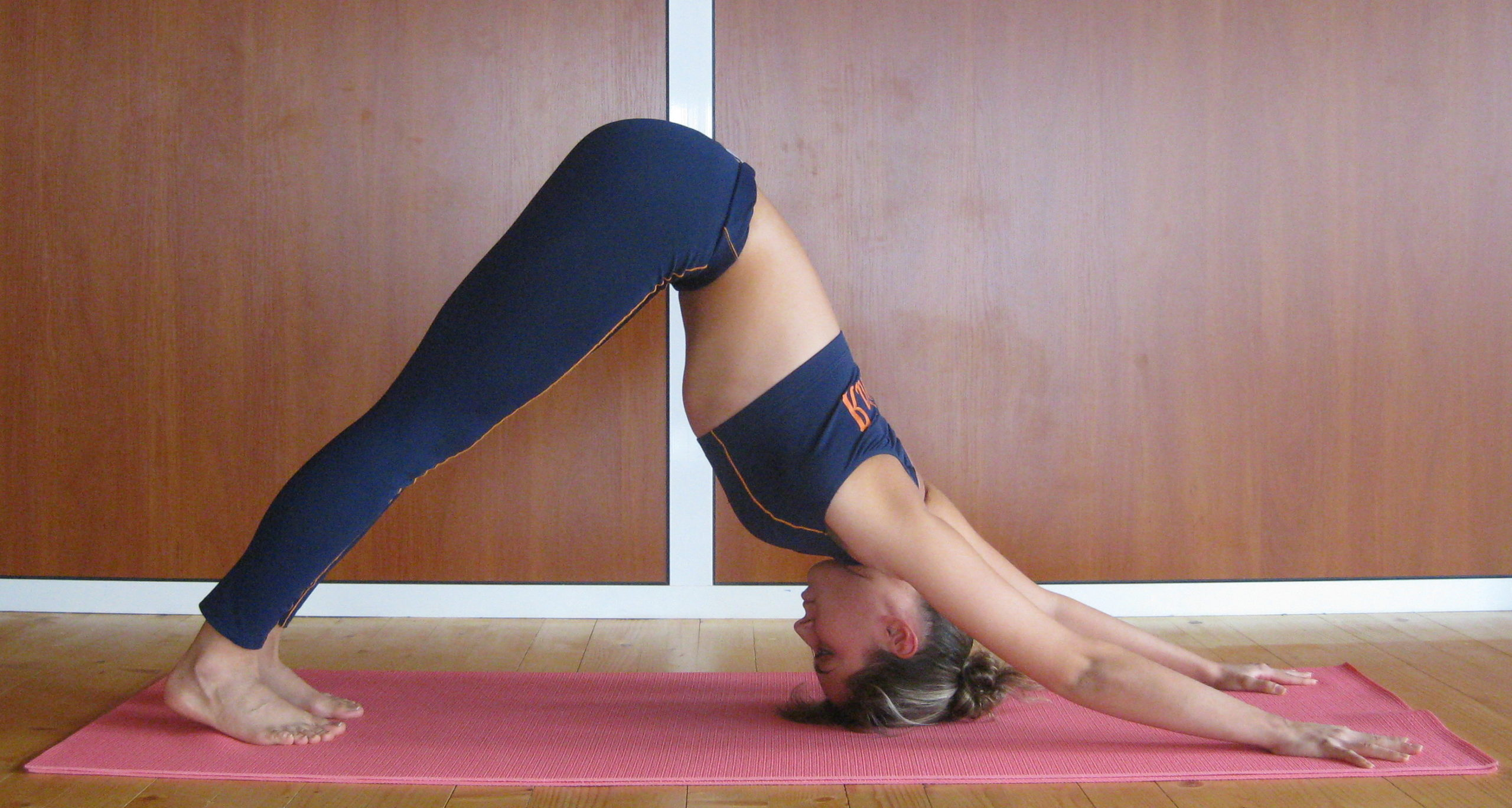 Downward back workouts from home