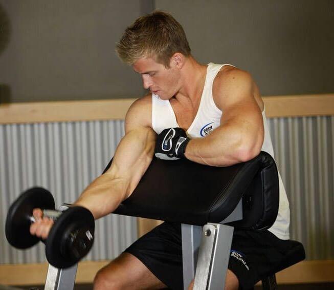 Dumbbell Preacher Curl best biceps workout