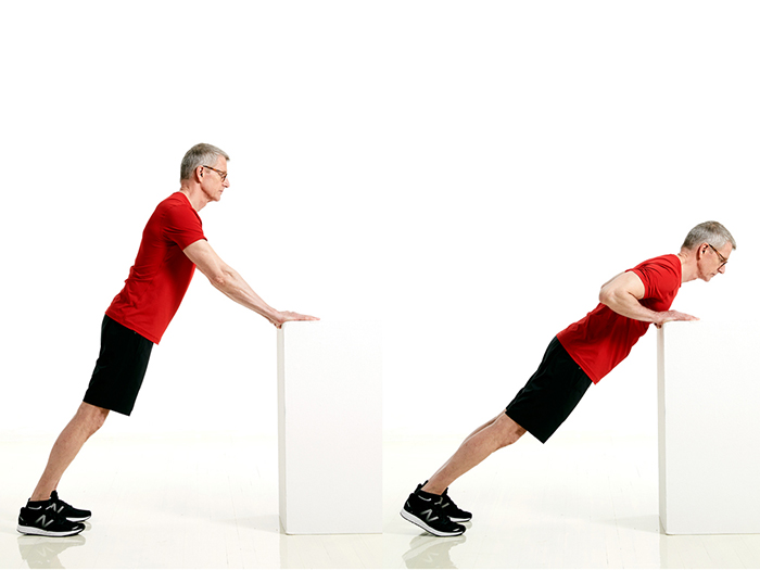 Incline Push-ups - Shoulders workout at home