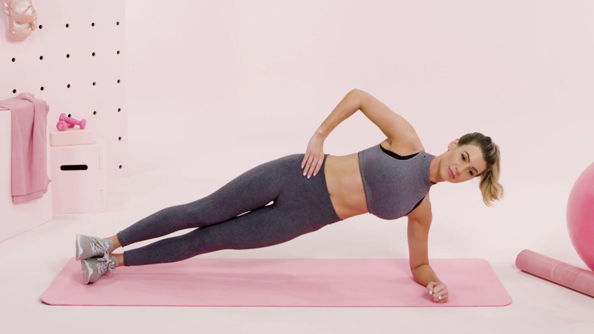 Side Plank Shoulders workout at home