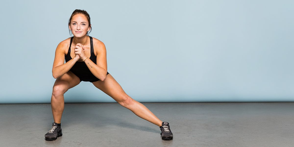 Side to Side Lunges