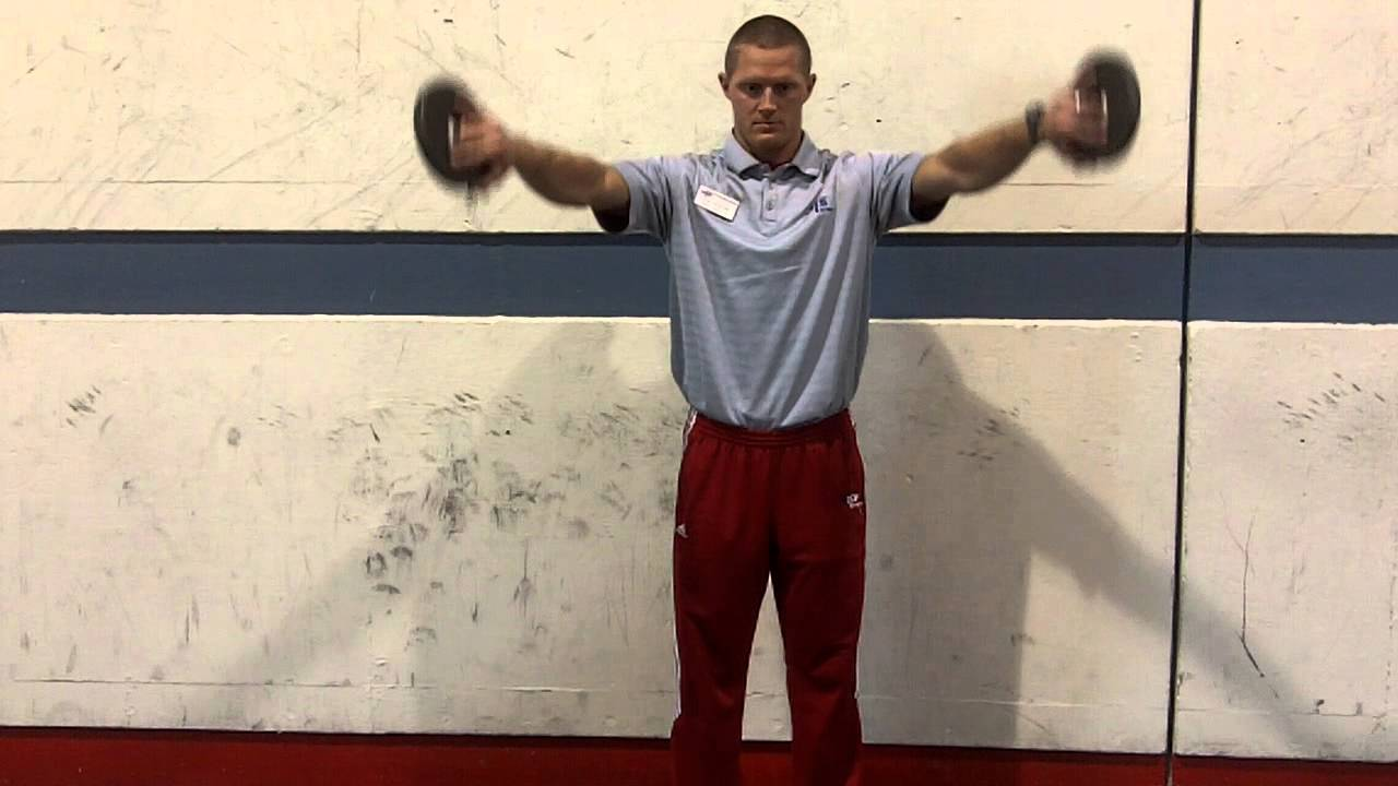 Can Emptying Exercise - How to strengthen your shoulders
