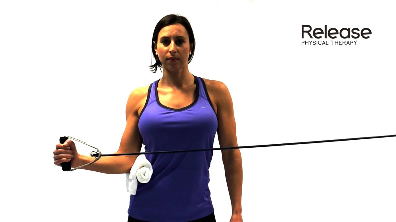Internal and External Rotation with Resistance Band - How to strengthen your shoulders