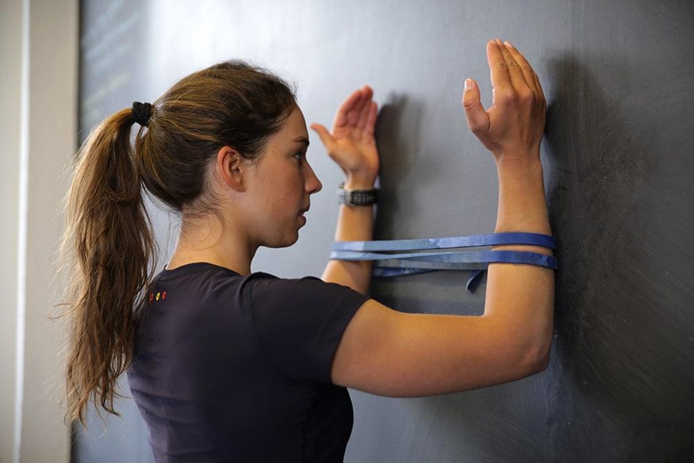 Shoulder stability exercise
