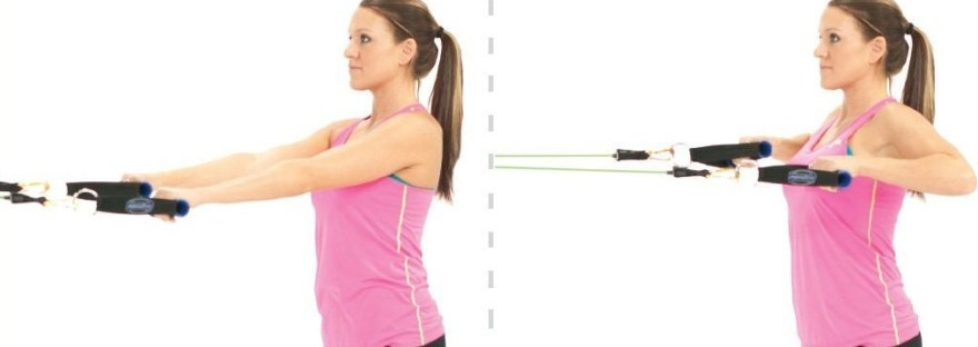 Standing Row How to strengthen your shoulders