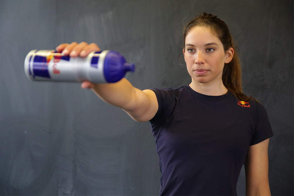 Water Bottle Stabilizer - How to strengthen your shoulders